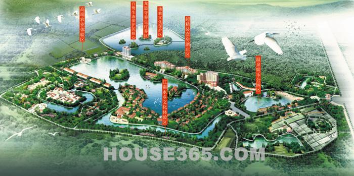 毓龙湾国际度假村效果图