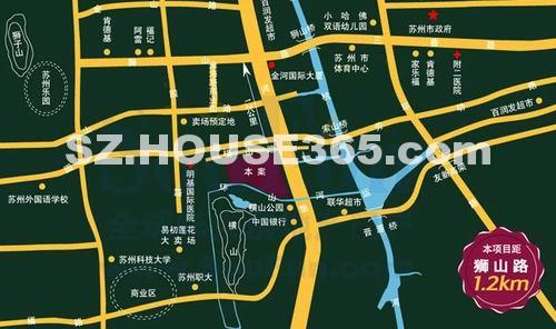 美田山水之恋交通图