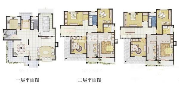 春申湖半岛名墅独栋A-05户型7室3厅4卫1厨385.00㎡