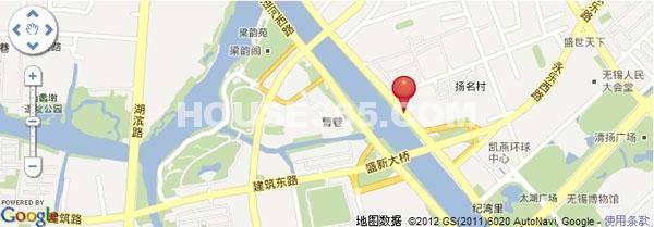 水岸年华交通图