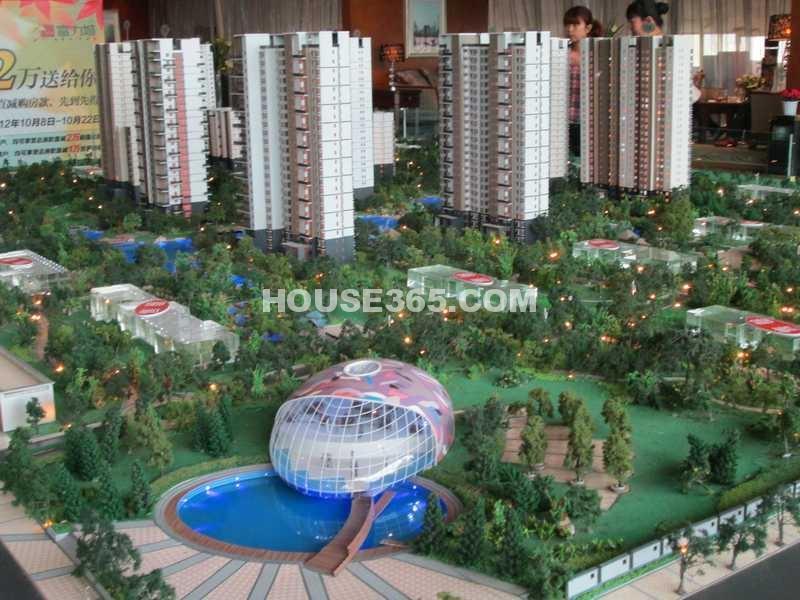 富力城南区沙盘图(2012.10.12)