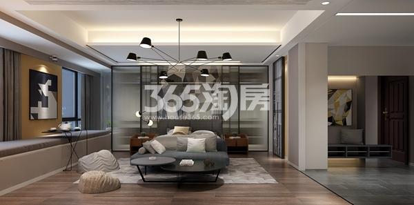 金科米兰尔家公寓60平C户型样板间效果图