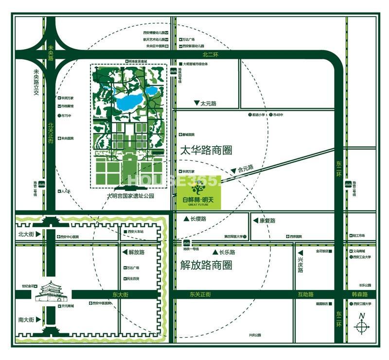 白桦林明天交通图