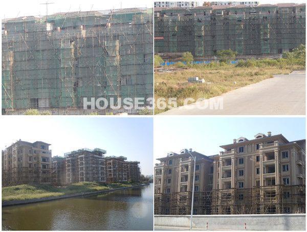 栖霞东方天郡项目正在建设中(2012.10 摄)