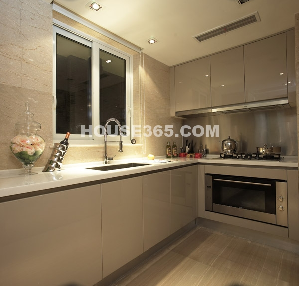 绿地西水东中央生活区样板间-厨房