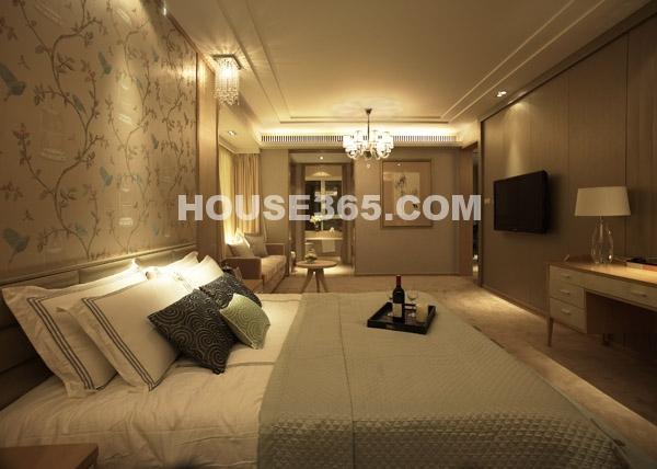 绿地西水东中央生活区样板间-卧室