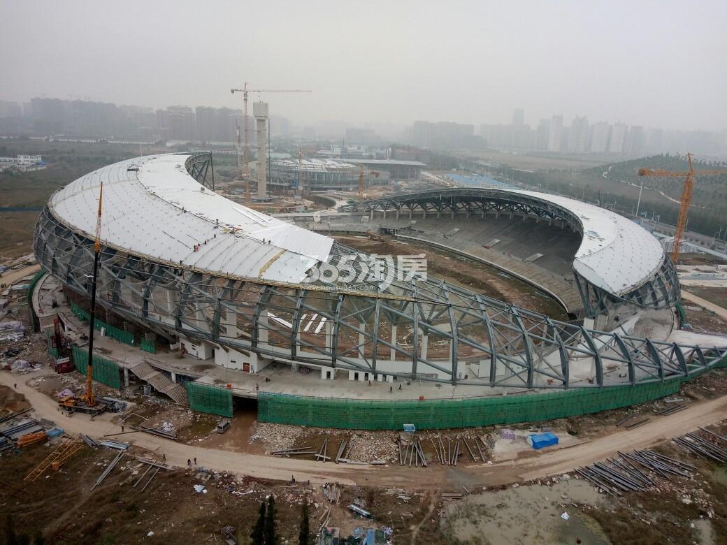百合燕山公馆 奥体中心 201712