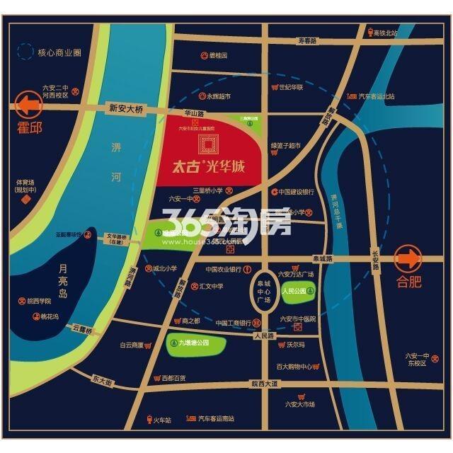 太古·光华城交通图
