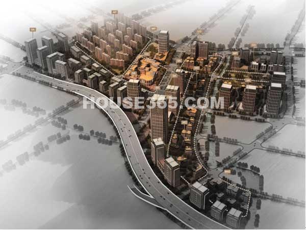 联东U谷无锡总部商务园鸟瞰图
