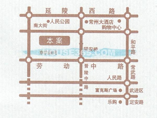 嘉宏盛世交通图
