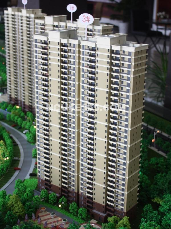 宝龙城市广场高楼沙盘图