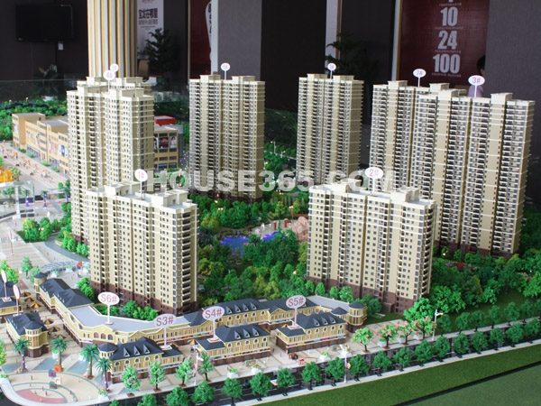 宝龙城市广场沙盘图