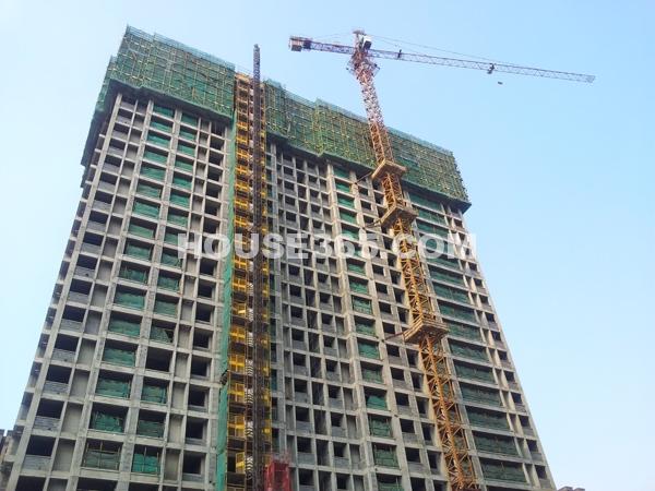 37#楼建设实景图
