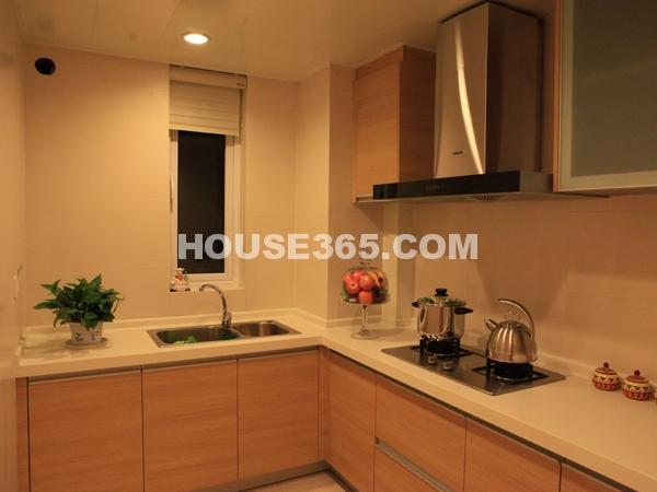 B户型104㎡样板间厨房实景图