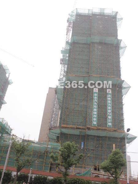 18#楼工程进度(2011.8.4)