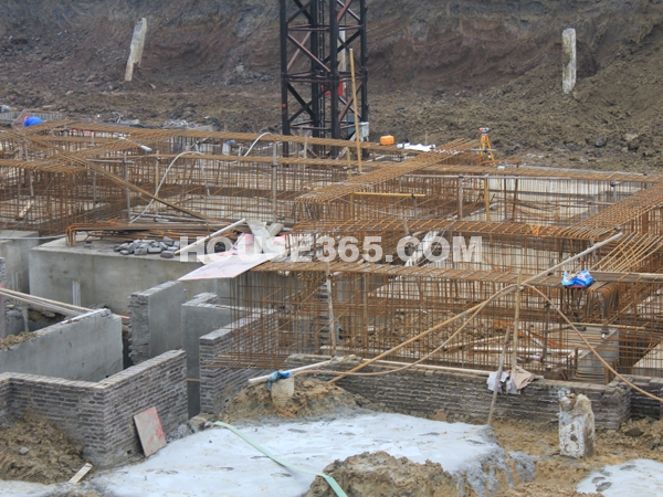 工程进度实景(2012.3.2)