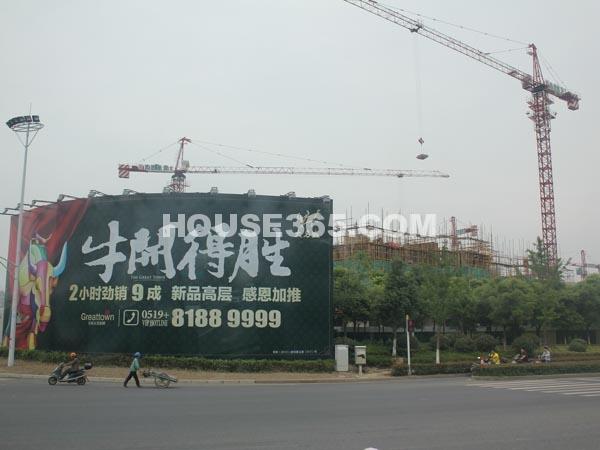 工程进度实景(2012.5.23)