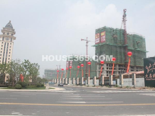 工程进度实景(2012.8.15)