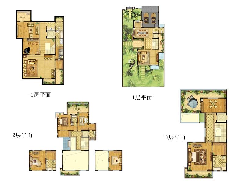 类独栋 7室4厅5卫