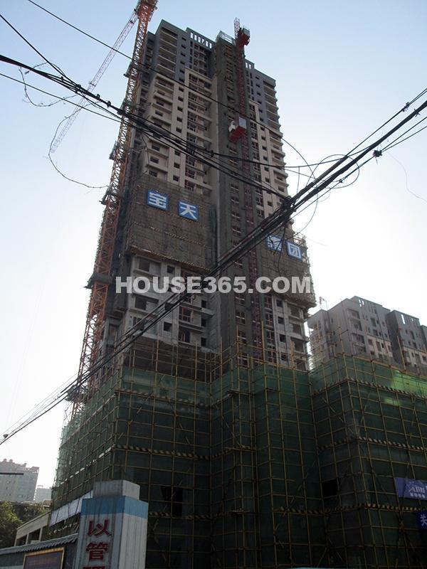 恒天国际城16号楼施工进度图(2012年11月)