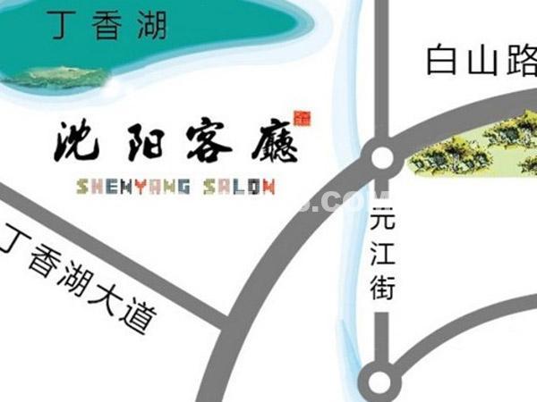卓尔沈阳客厅交通图