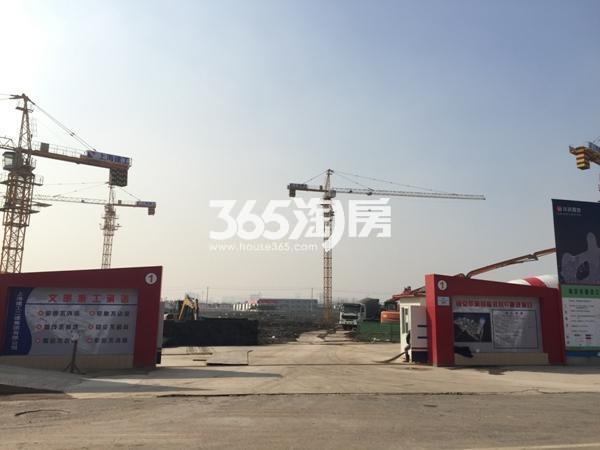 华润国际社区实景图(2016.1.19)