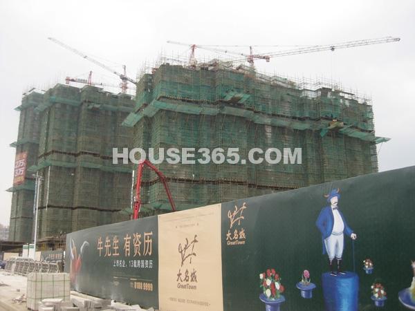 工程进度实景(2012.11.3)