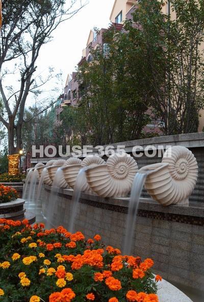 华远海蓝城园区实景图