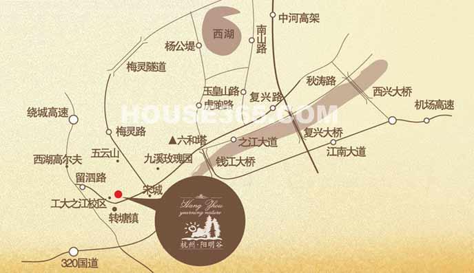 广东省阳明县地图