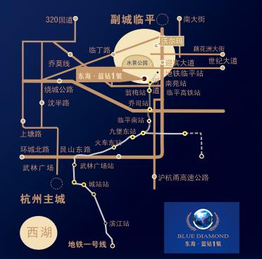 东海蓝钻1号交通图