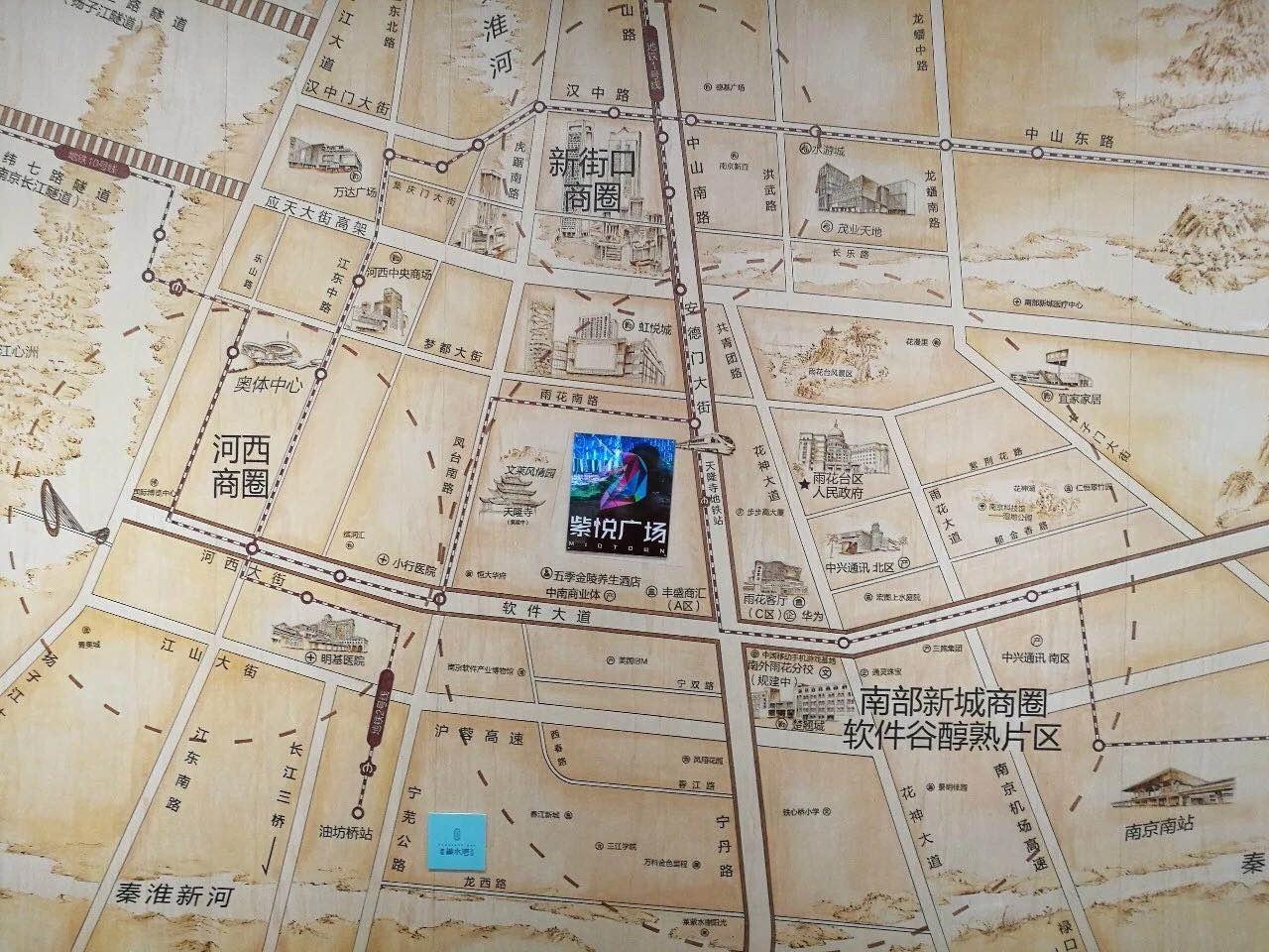 建发紫悦广场交通图