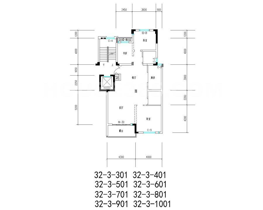 32幢户型图