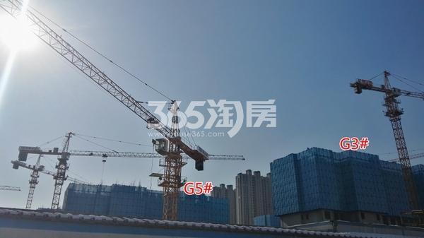 万科翡翠天御高层3#\5#均建至5层以上(1.15)