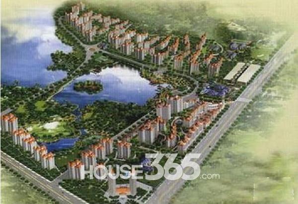 新加坡花园城效果图