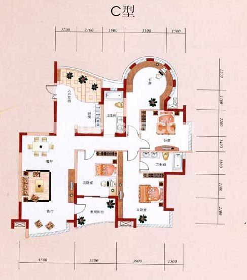 山水住宅设计平面图