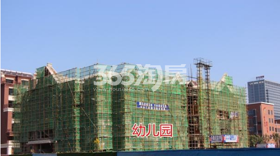 悦湖山院幼儿园施工中(2018.1.15)