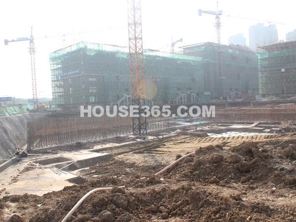 1#、2#楼工程进度(11.7)