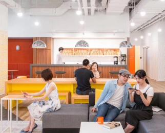 地铁上盖5A标准写字楼含家具及所有宽带水电空调能耗费地标建筑