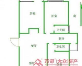 凤翔馨城 毛坯三房 楼层好 周边配套泉 学区菜场医院全 急售