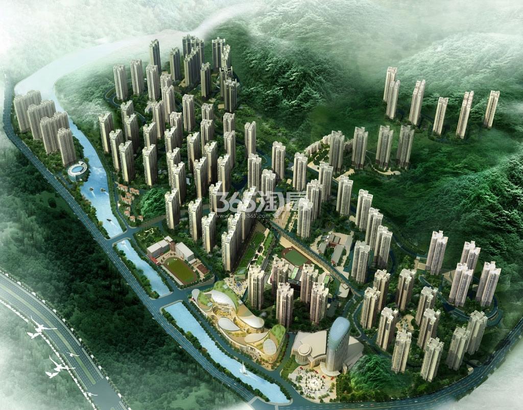 中国铁建国际城效果图