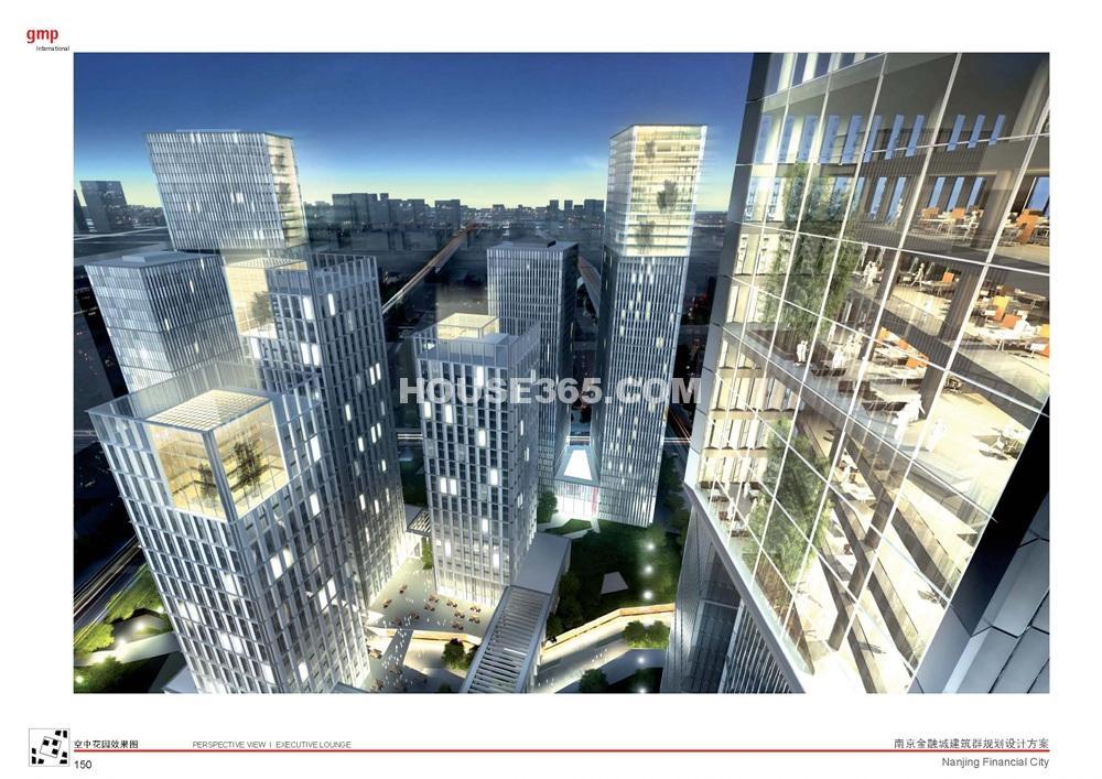 南京金融城效果图