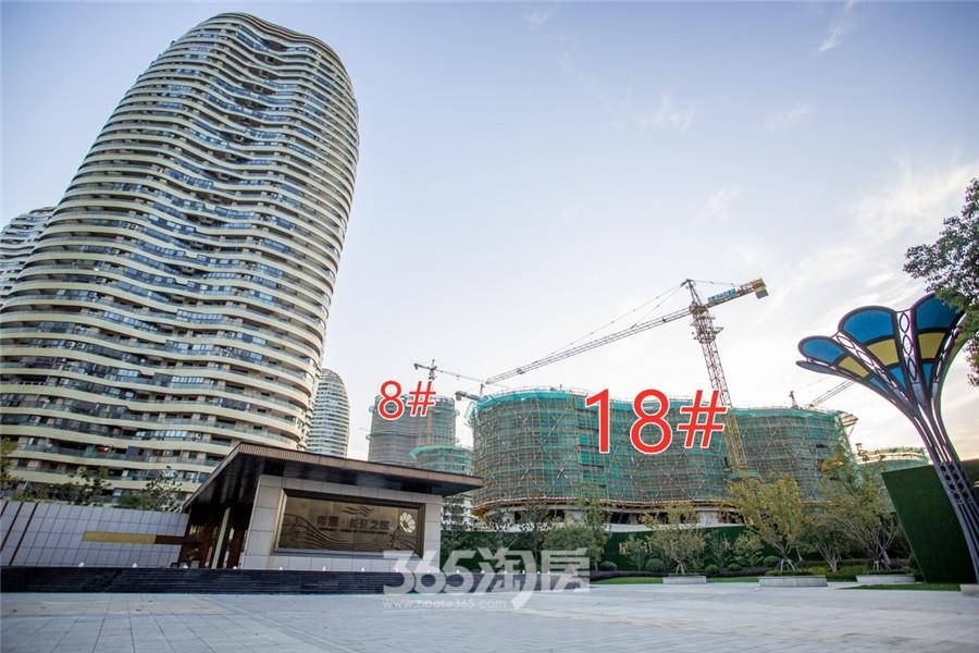 伟星长江之歌二期天誉8#、18#工程进度(2019.11摄)