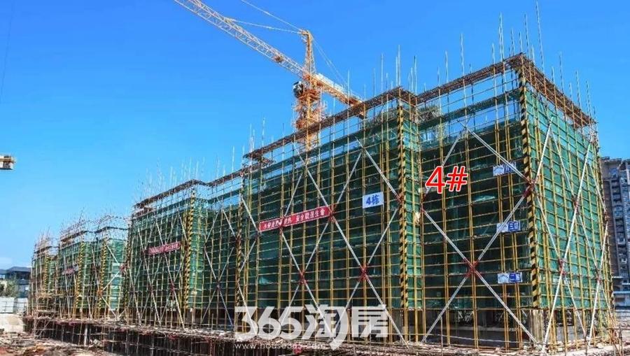 华强悦山府4#6月工程进度(2018.6摄)