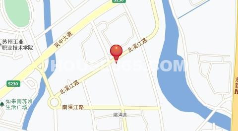 石湖天玺交通图