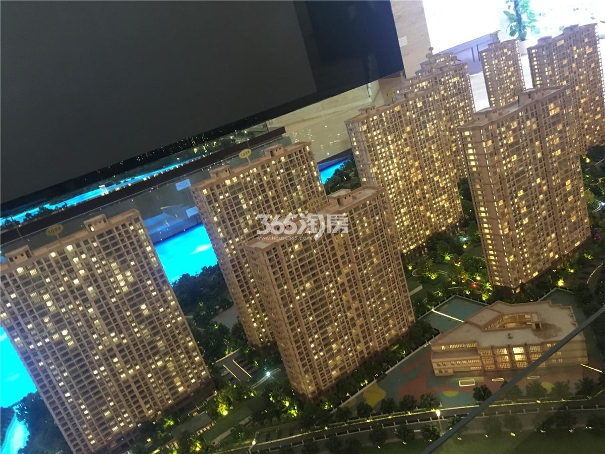 翠屏城沙盘实景(11.15)