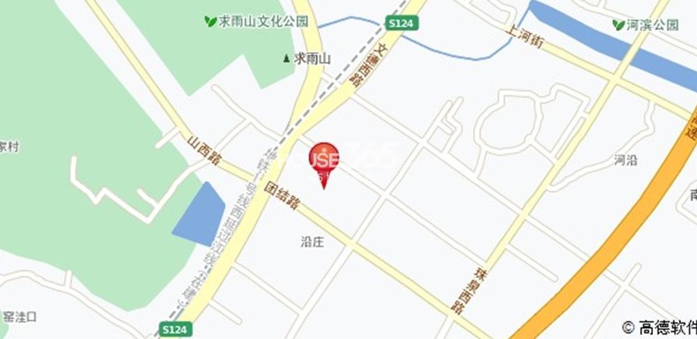 金盛田锦上交通图