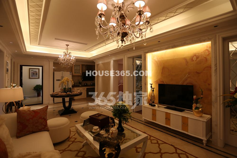 金浩仁和天地 109平样板房--客厅