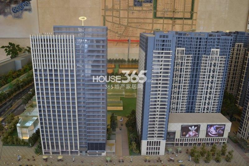 恒天国际城1和2号楼沙盘图(2013年3月8日)