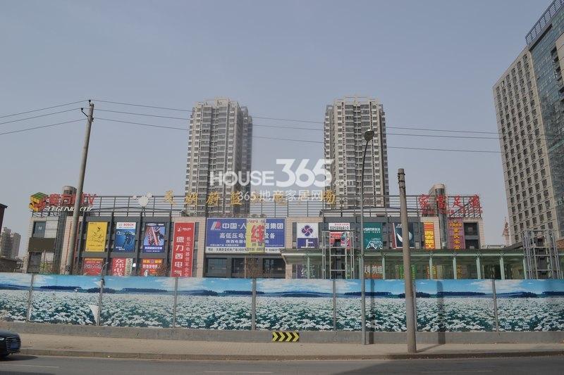 恒天国际城周边-天朗蔚蓝机电广场实景图(2013年3月8日)