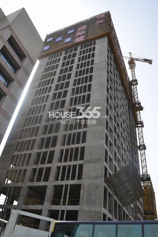恒天国际城安置楼施工进度图(2013年3月)
